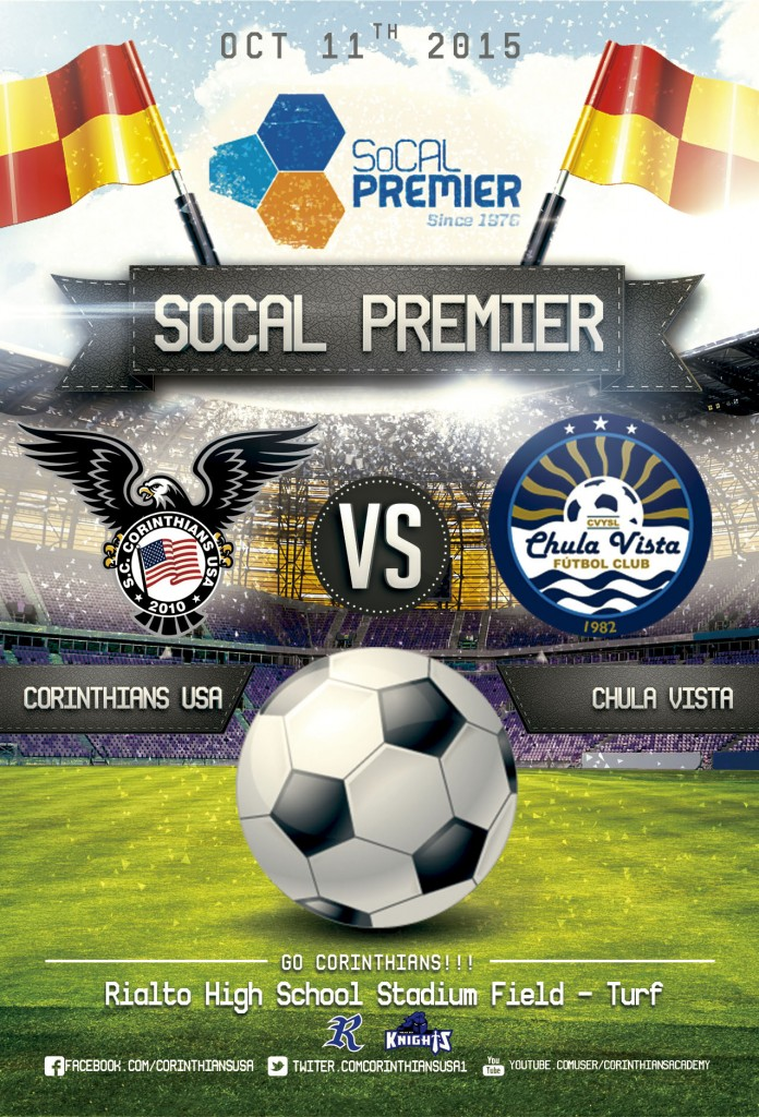 Corinthians USA vs Chula Vista